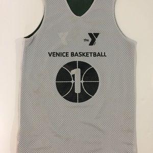 Alleging unisex L basketball tank Venice H S Fl #1